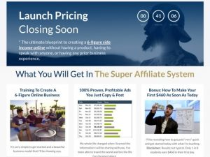 John Crestani – Super Affiliate System 3.0 review