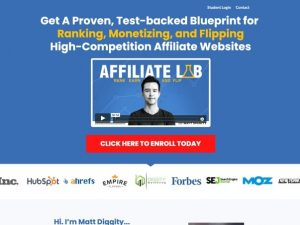 Matt Diggity – The Affiliate Lab review